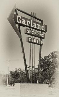 Garland Shopping Center Sign (3)