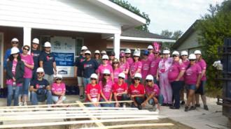 habitat women build event