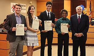 GISD students named Texas leaders