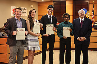 GISD students named Texas leaders