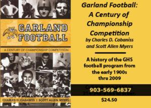 GHS Football History Book Ad copy copy