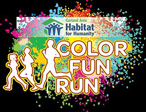 Color Fun Run Honors First Responders The Garland Texan Website